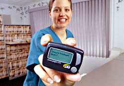 LRS Netpage Unlimited Hospital Pager System