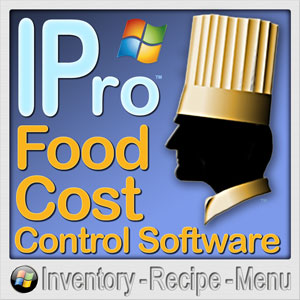 Restaurant software cost control ipro restaurant food inventory ipro is for restaurants and all food service specialties forumfinder Images