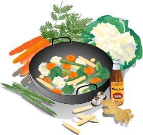 Restaurant Menu Design Software: Asian Foods 1 Royalty ...