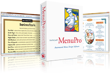 Softcafe Menupro Restaurant Menu Design Software Overview