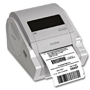 b69fd0727d Food Label Printer  Brother TD-4000 Desktop 300dpi Direct Thermal ...