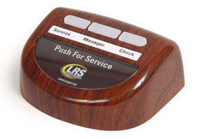 Lrs Pager System Table Genie 3 Button Push For Service