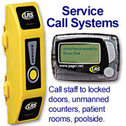 Click the image for a detailed description of the Butler XP Service Pager System