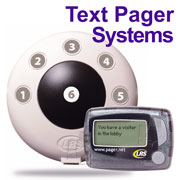 Click the image for a detailed description of the PRONTO Staff / Server 6-Button Pager System
