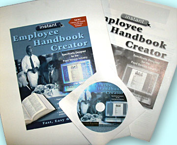 restaurant employee handbook creator cd for sysco business review
